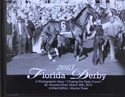 2013 Florida Derby Book - Orb on the Cover
